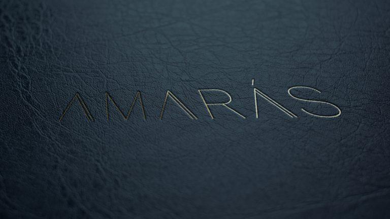 Amaras logotip za restavracijo