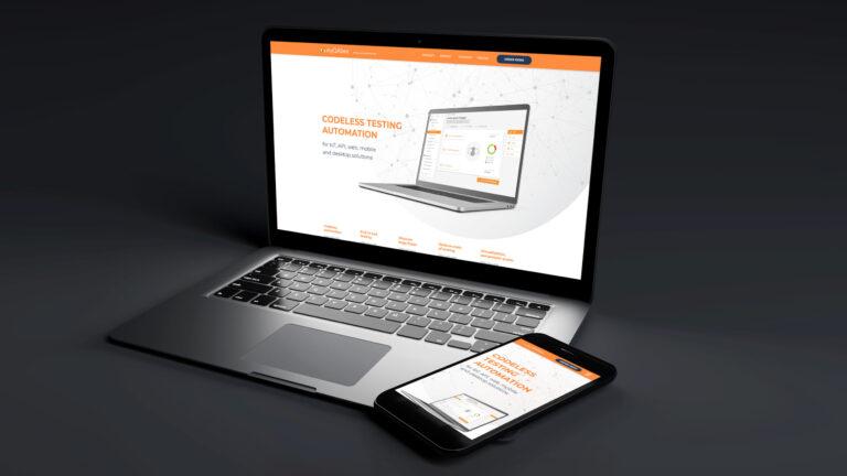 spletna stran MyQAbee za desktop